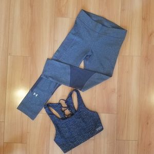 Under Armour & Victoria Secret workout set